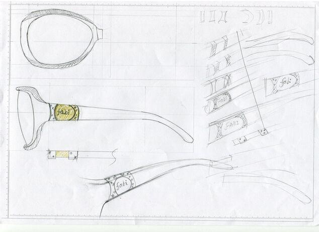 眼镜创意图片手绘简单